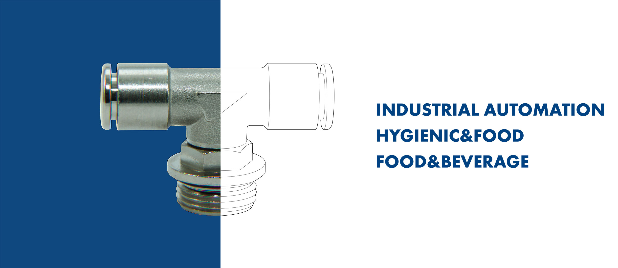 Tierre Fittings - Industrial Automation Hygienic & Food Food & Beverages