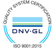 ISO 9001 DNV GL Certification Mark
