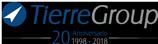 Logo Tierre Group Anniversario 20 anni