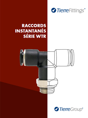 Catalogo Raccords Instantanes Serie WTR di TierreFittings