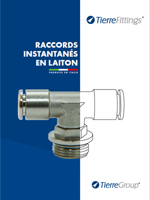 Catalogo Raccords Instantanés en Laiton in Francese di TierreFittings