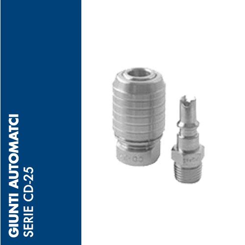 CD25 - Giunti Automatici CD-25 - DN 5,2 mm