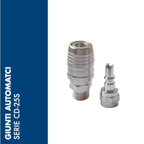CD2S - Giunti Automatici di SICUREZZA CD-25S - DN 5,2 mm