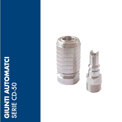 CD50 - Giunti Automatici CD-50 - DN 7,0 mm