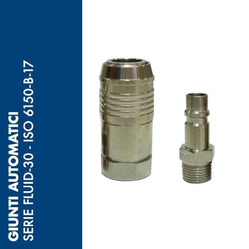 FL30 - Giunti Automatici Serie FLUID-30 - Profilo ISO 6150-B-17