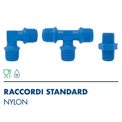 1800 - Raccordi standard in Nylon