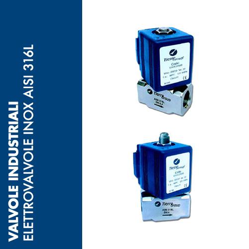 EVX6 - Elettrovalvole INOX AISI 316L
