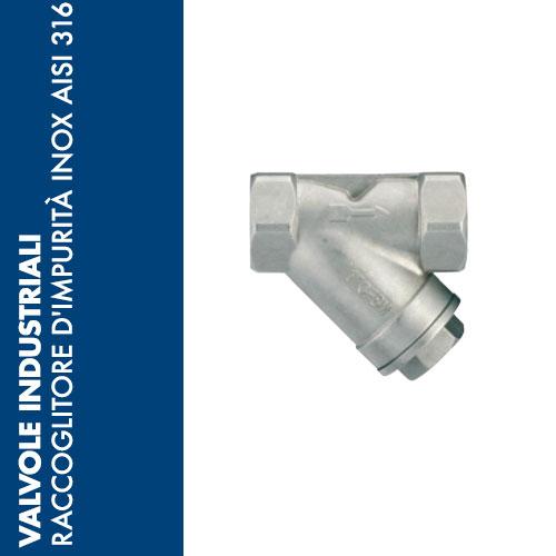 RCIX - Raccoglitore d'Impurità  INOX AISI 316