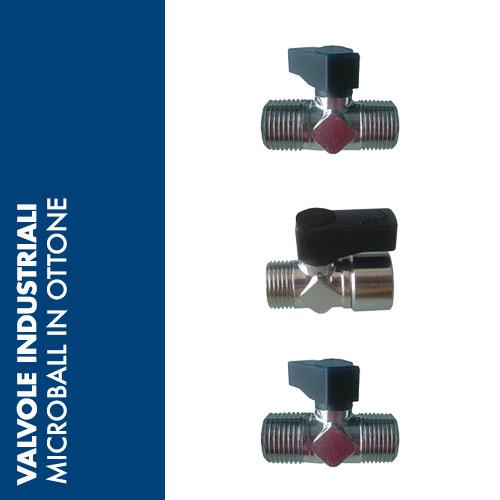VSMO - Valvole a Sfera MICRO