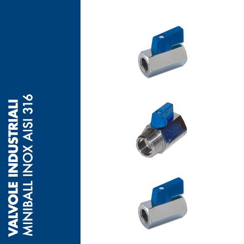 VSMX - Valvole a Sfera MINI INOX AISI 316