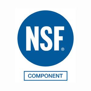 Logo NSF - NSF Components - Serie HFR e XVR - Certificazioni NSF Components per le serie HFR e XVR
