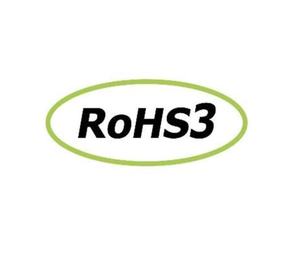 Logo ROHS - ROHS3 - Dichiarazione di conformità alla direttiva 2011/65/UE